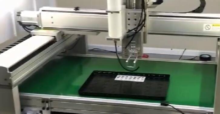 视觉点胶系统在流水线上的应用